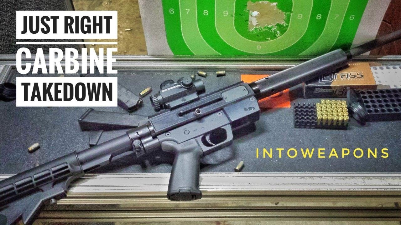 JR Carbine 9mm Takedown: Review & Shooting!