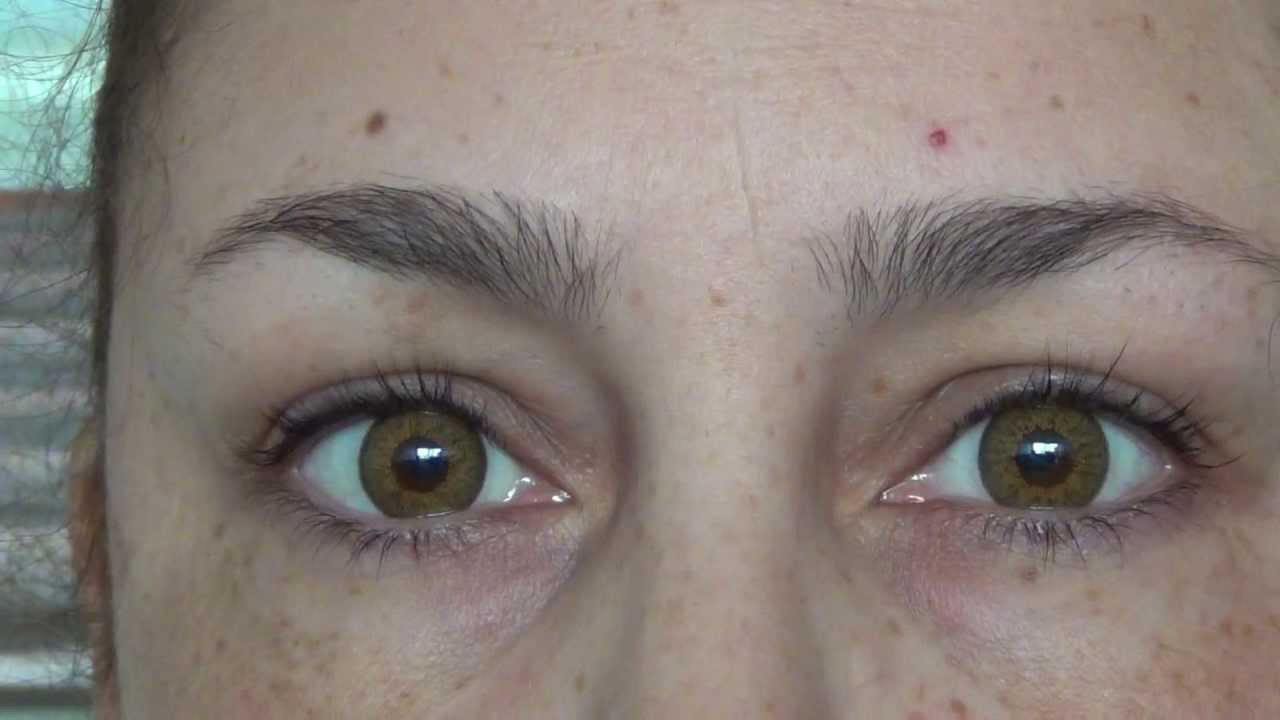 Natural Blue Contacts For Hazel Eyes