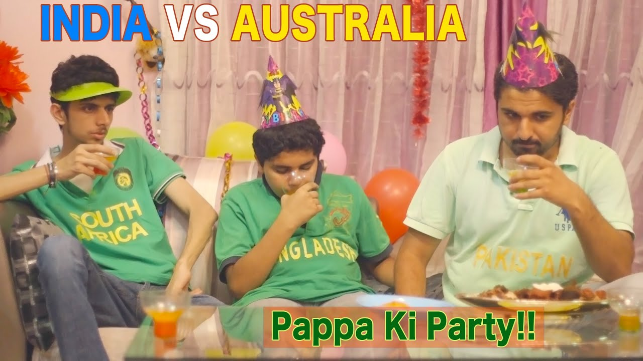 INDIA VS AUSTRALIA - Mauka Mauka Funny Ad - ICC Cricket World Cup 2015 - PAPPA KI PARTY !!