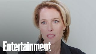 Gillian Anderson Reveals Her Own On Set Sex Education | Entertainment Weekly