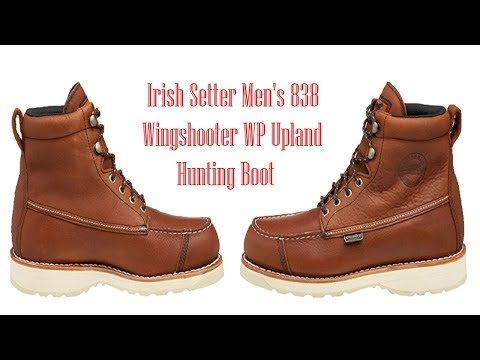 Irish Setter Men's 838 Wingshooter WP Upland Hunting Boot   Best Upland Hunting Boots