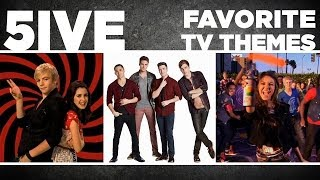 austin ally vs btr 5ive favorite tv themes