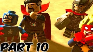 LEGO Marvel Super Heroes 2 Gameplay Walkthrough Part 10 - 1080P 60FPS