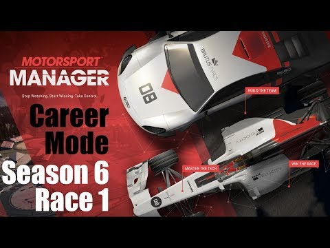 Motorsport Manager - Career - Asia-Pacific Supercup [2nd Season!] - S6E1
