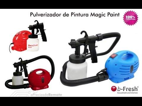 Magic paint compresor de aire pintura pulverizador pistola - Pistola de pintura sin compresor ...
