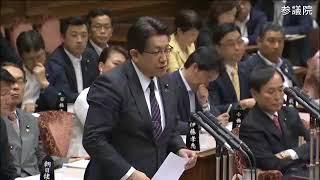 「総理案件」柳瀬唯夫・参考人5/10午後:参院・予算委員会