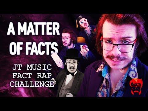A MATTER OF FACTS  | JT Music Fact Rap Challenge