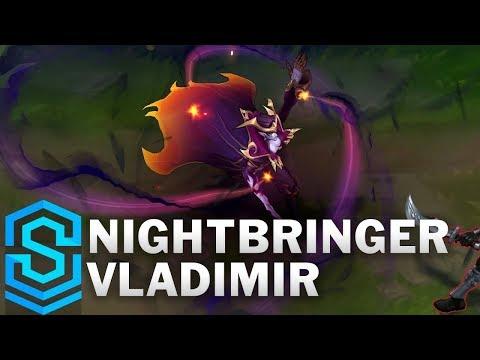 Nightbringer Vladimir Skin Spotlight - Pre-Release - League of Legends