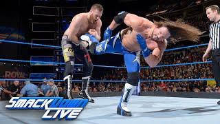 AJ Styles vs. Sami Zayn: SmackDown LIVE, Jan. 23, 2018
