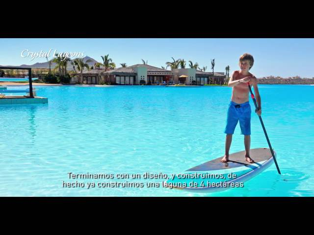 Testimonio Crystal Lagoons Eduardo Romo, Diamante Golf and Country Club, México Español