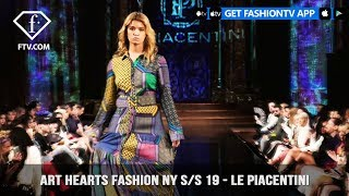 Art Hearts Fashion NY S/S 19 - LE PIACENTINI | FashionTV | FTV