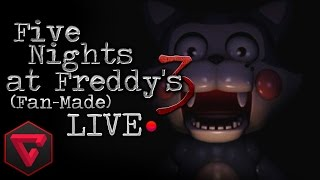 FIVE NIGHTS AT FREDDY'S 3: LA MORDIDA DEL '87 (Fan-Made) LIVE (Noche 3,4,5,6 y Custom Night)