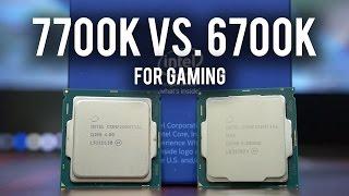 kaby lake 7700k vs skylake 6700k for gaming core i7 showdown