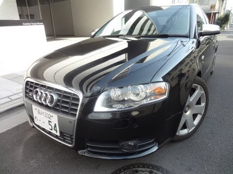 2005 Audi S4 Quattro (4WD) Sedan for Sale or Lease Tokyo Japan
