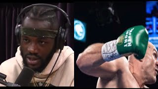 WHAT DOES DEONTAY WILDER THINK ABOUT THE TYSON FURY GLOVE CASE