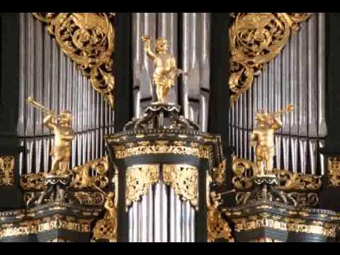 Sietze de Vries - Amsterdam Oude kerk 2004, Grote orgel Bach Vater unser