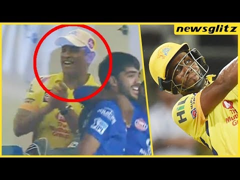 Dhoni's Reaction On Bravo's Stunning Performance | CSK Vs MI Highlights | IPL 2018