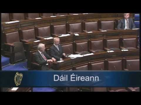 Introducing ESC Rights Bill in Dáil