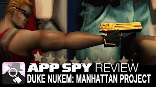 Duke Nukem: Manhattan Project | iOS iPhone / iPad Gameplay Review - AppSpy.com