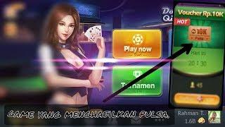 Maen game bisa dapat pulsa !!