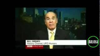 bill birnes talks to bbc about uk ufo file releases in march 2011 8000 ufo cases on 3 3 2011