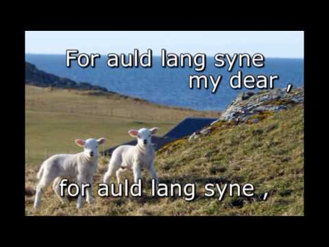 Auld lang syne - Traditional Scottish for New Year !