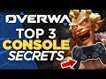 Top 3 SECRETS for Controllers on Console - Overwatch Guide