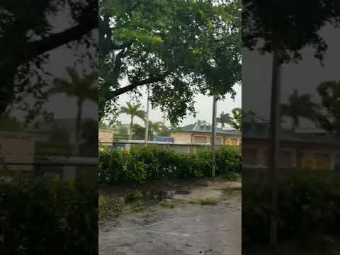 Irma roofs coming off Marco island