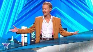 El HUMOR de este chico RUSO no convence al JURADO | Audiciones 7 | Got Talent España 5 (2019)