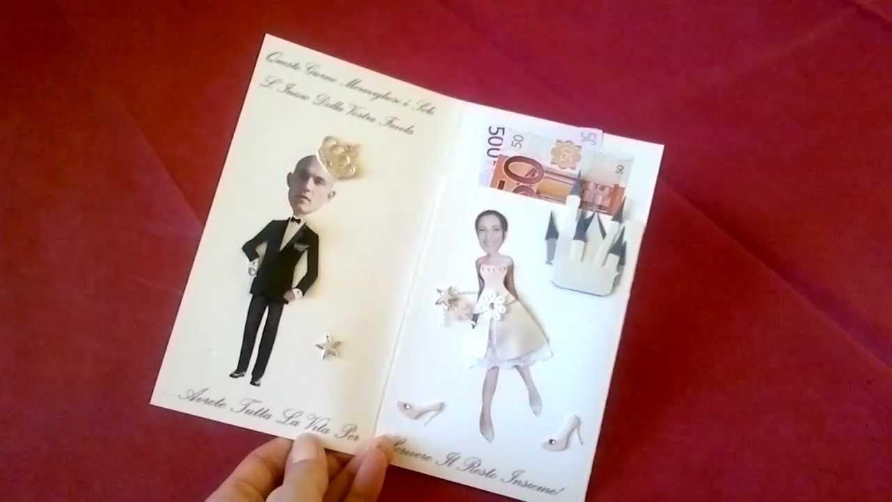 Auguri Matrimonio Per Nipote : Biglietto auguri portasoldi youtube