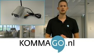 KommaGo - Foscam FI9805W Outdoor WiFi IP-camera Productbespreking