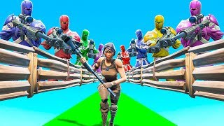 SCAPPIAMO DAI NOSTRI FAN! - FORTNITE *SNIPERS VS RUNNERS*