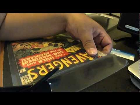 How To Open A CGC Graded Comic Book - Brief Explaination/Tips