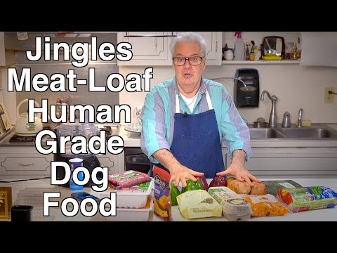 Healthy Dog Food Cooked At Home - Jingle Bell Meat Loaf
