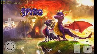 The Legend Spyro Dawn Of Dragon Gameplay Dolphin emulator android