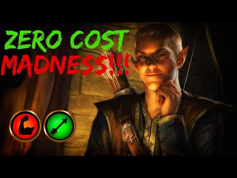 ZERO COST MADNESS!!! Market Archer | TES Legends