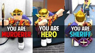 LUCKIEST ROBLOX MM2 GAMES EVER!!