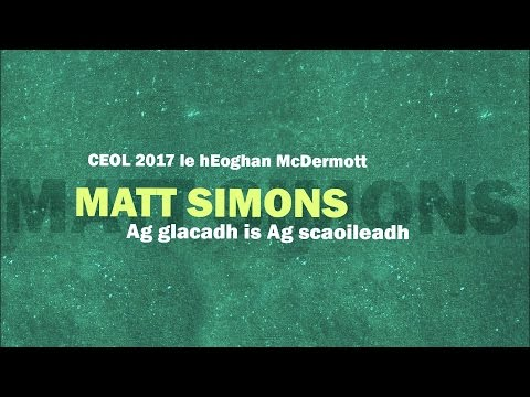 Matt Simons - Catch & Release (As Gaeilge)