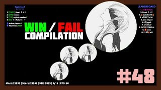 Agar.io - Win / Fail Compilation #48