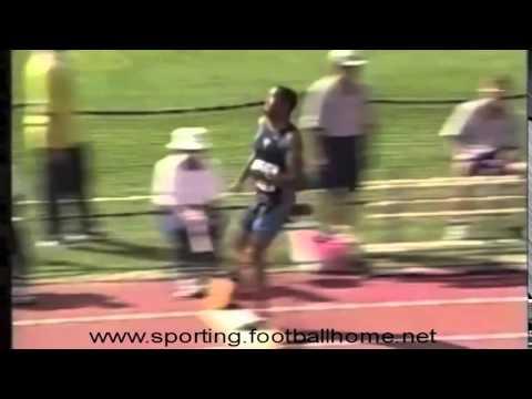 Atletismo :: Carlos Calado, Medalha de Bronze no Salto em comprimento, nos Mundiais Edmonton 2001