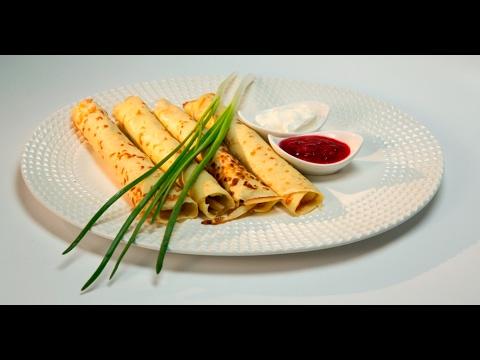 Картофельные блины с начинкой рецепт пошагово канал еда