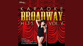 In My Own Little Corner (In the Style of Cinderella) (Karaoke Version)