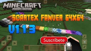 Textura SOARTEX FANVER 64X64 para minecraft pocket edition 1.1.3