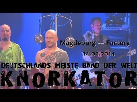 Knorkator live in Magdeburg 14.02.2014