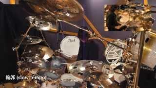 GiGS2013年6月号のDIR EN GREY:Shinyaによるドラム講座「ドラムモンス...