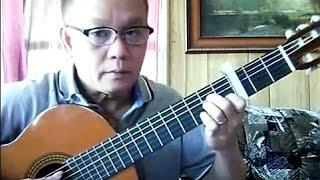 Thành Phố Buồn (Lam Phương) - Guitar Cover by Bao Hoang