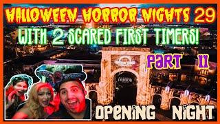 🔴Live: Halloween Horror Nights 29 Opening Nights. HHN. Universal Orlando. Part 2