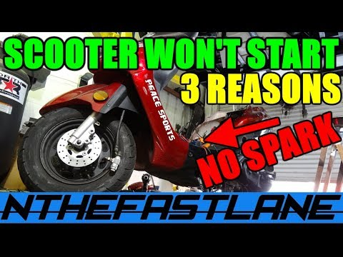 ▶️Scooter Won't Start Stator Repair (3 Reasons Why No ... on