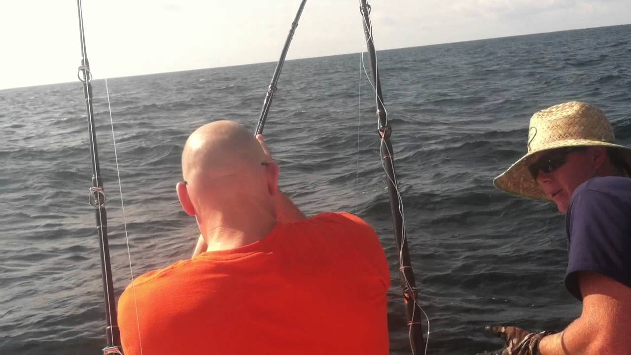 Deep sea fishing on triple trouble fishing charters for Fishing orange beach al