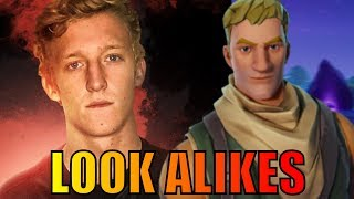 Twitch Streamers That Look Like Fortnite Skins (Tfue, Ninja, Daequan, & More!)
